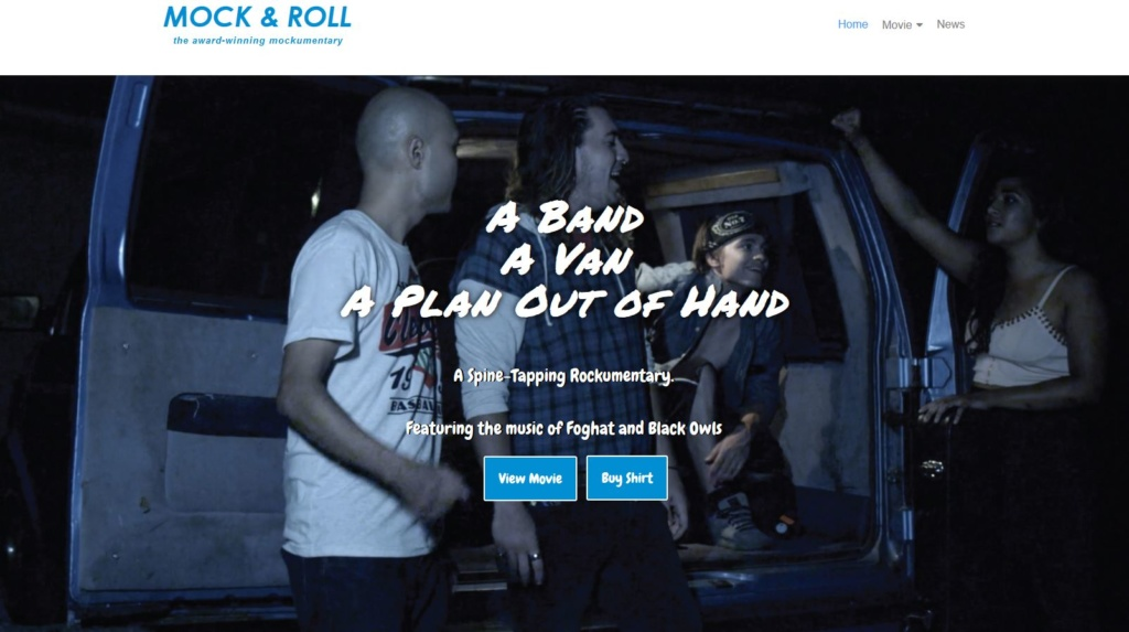 Mock and Roll Website Example
