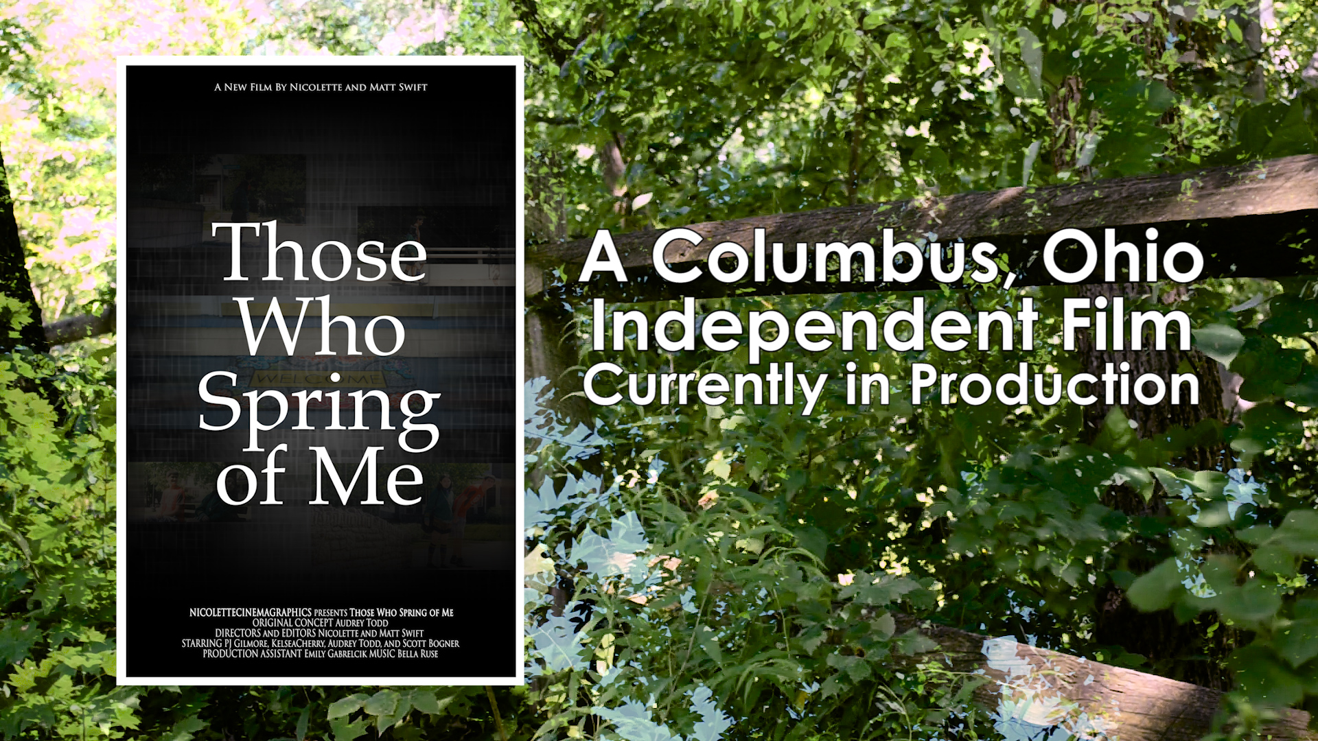 Feature Autism Film in Columbus Those Who Spring of Me Poster