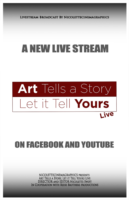 Art Tells a Story, Let it Tell Yours Live Poster
