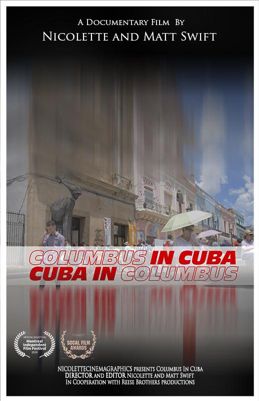 Columbus in Cuba Poster